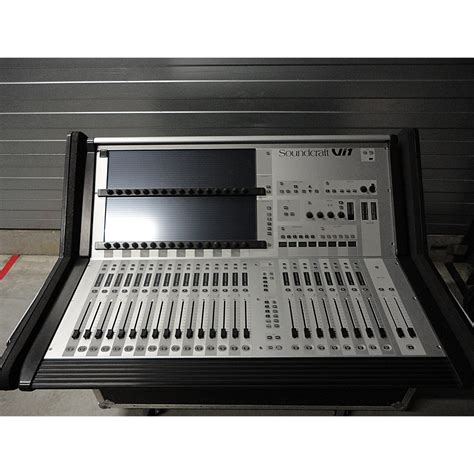 audio mixer console for sale used soundcraft vi1 digital mixing consoles