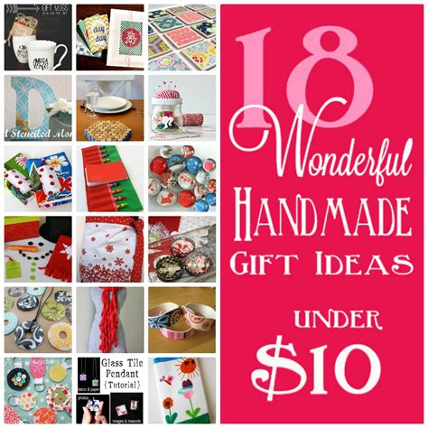 Handmade Gift Ideas - 18 handmade gifts 10 skip to my lou