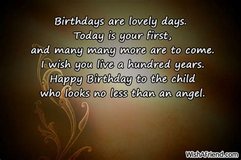 Happy Birthday Wish You Many More To Come 1st Birthday Wishes Page 2