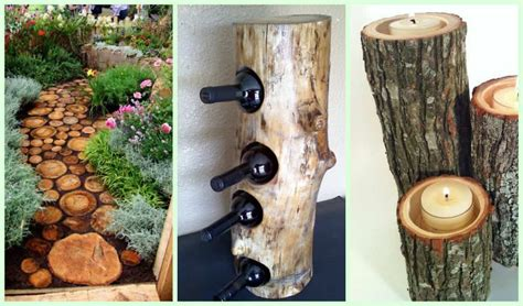 gorgeous diy wood home  garden decorations