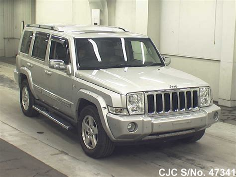 jeep commander for sale 2006 jeep commander silver for sale stock no 47341