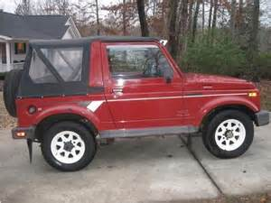 Suzuki Samurais For Sale Purchase Used 1988 Suzuki Samurai 4x4 Low All
