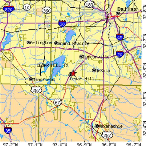 map of cedar hill texas cedar hill texas tx population data races housing economy