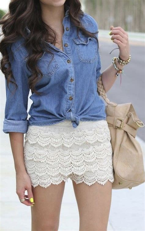 details about casual sweet tiered lace crochet