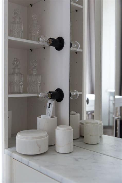 bathroom light wattage bathroom boudoir with marble details and light bulbs