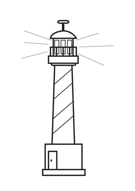 coloring pages of lighthouse of alexandria coloring page lighthouse img 23130