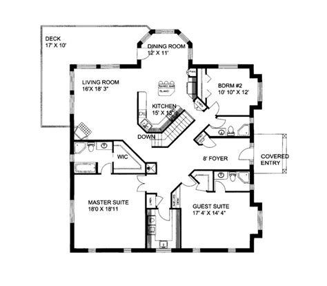 floor plans for sloped lots melita sloping lot home plan 088d 0086 house plans and more