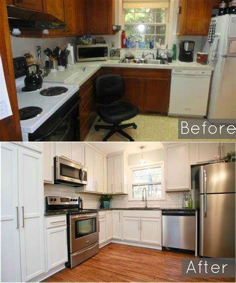 Before And After Of Our Ugly 1960 S Split Level Kitchen Split Level Kitchen Remodel Before And After