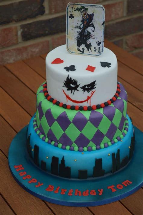 joker cake   joker themed birthday party www