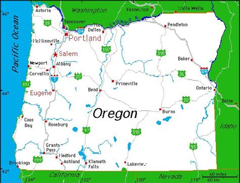 oregon state cus map complete map of oregon oregon state beekeepers association places to visit