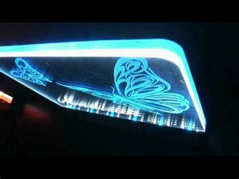 led acrylic edge lighting update variation on duel colour acrylic led edge lit logo