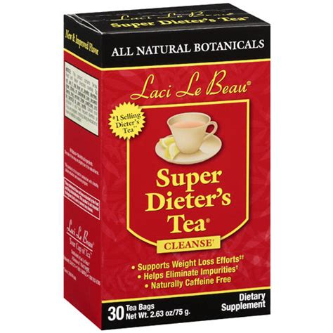 Detox Dieters Tea by Laci Le Beau Dieter S Tea Cleanse Dietary Supplement