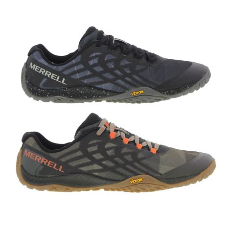 Merrel Running Browm merrell trail glove 4 mens trail running shoes black brown