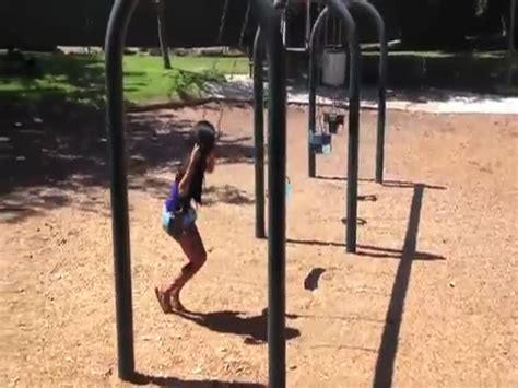 swing wedgie funny swingset wedgie prank izismile com