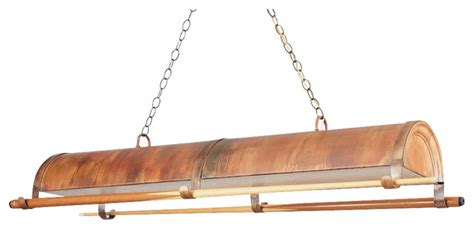 Glass Pendant Lights For Kitchen Island 57 in billiard light in rosewood finish industrial