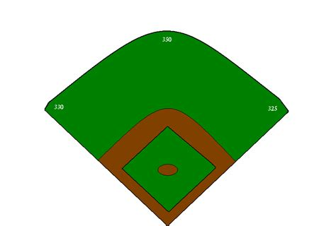 diagram of a baseball field baseball field diagram for clipart best