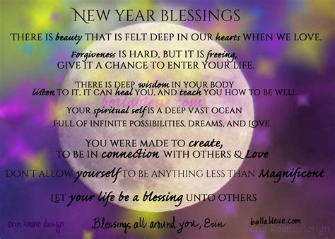 blessing the new year of you bella bleue healing