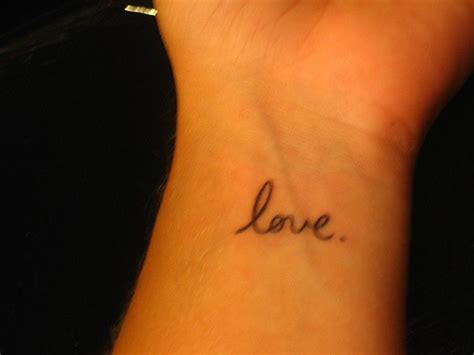written tattoos on wrist small writing on wrist tattooimages biz