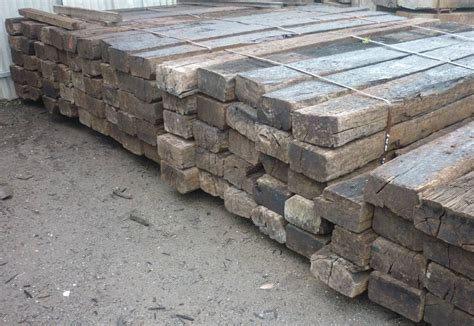 Hardwood Timber Sleepers by Railway Sleepers New Used Sleepers Adelaide Rural