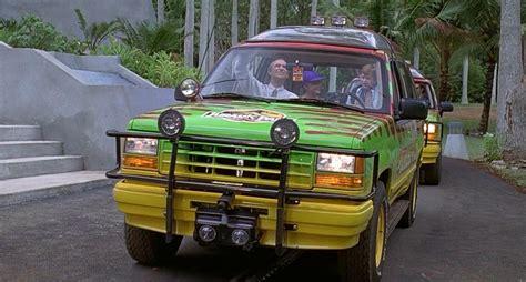 jurassic park car movie 1993 quot jurassic park quot 1993 ford explorer xlt best movie cars