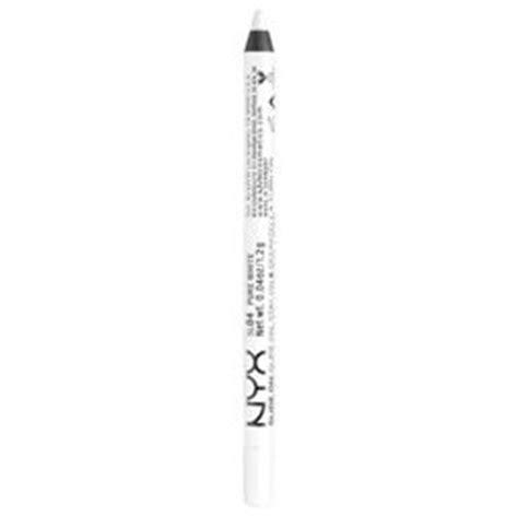 Wardah Eyeliner Pencil White nyx pencil and white eyeliner on