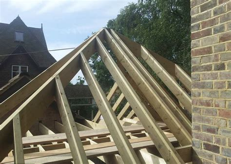 Hip Roof Construction Jrv Building And Carpentry Specialists