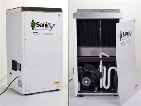 basement dehumidifier system sanidry dehumidifiers available from meacham companies
