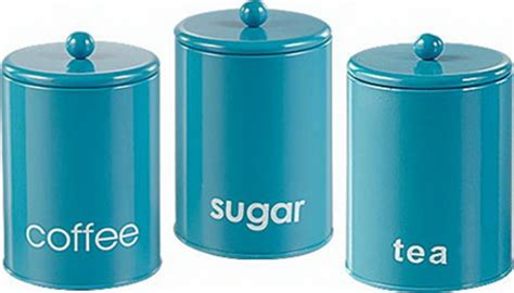 Stainless Steel Kitchen Canister Set 3 Set Kitchen Canister Storage Set Tea Coffee Sugar Jars