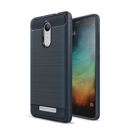 For Xiaomi Mi Note 3 Carbon Fiber Design Soft Tpu Black for xiaomi redmi note 3 pro prime caus hybrid