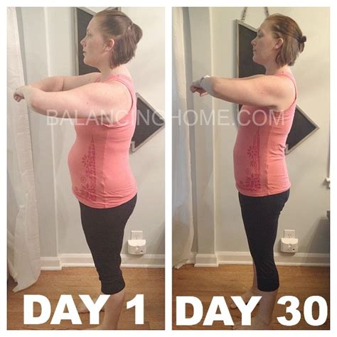 special k challenge before and after the 30 day challenge balancing home with megan bray