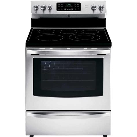 Stove With Oven kenmore 94193 5 4 cu ft electric range sears