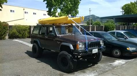 jeep cherokee kayak rack anyone carry kayaks on their xj s jeep cherokee forum