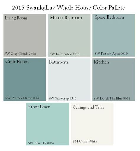 soothing color schemes 25 best ideas about aqua paint colors on pinterest