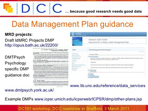data management policies