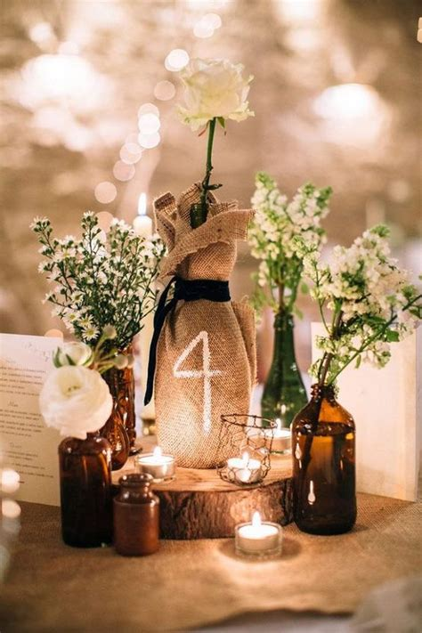 ultimate wedding table number guide 40 ideas weddingomania