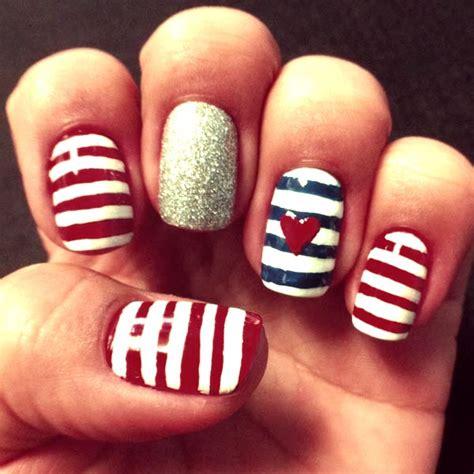 tutorial unhas instagram aprenda a fazer a unha nail de marinheira