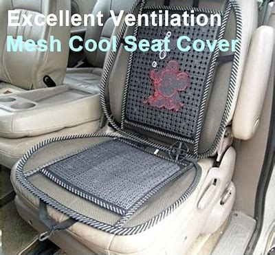 qoo car mesh seat cover automotive industry