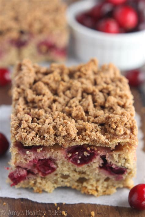 healthier cakes baked with foods books cranberry crumb coffee cake s healthy baking