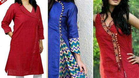 new neck pattern of kurti latest side neck designs for kurta kurti 2017 youtube