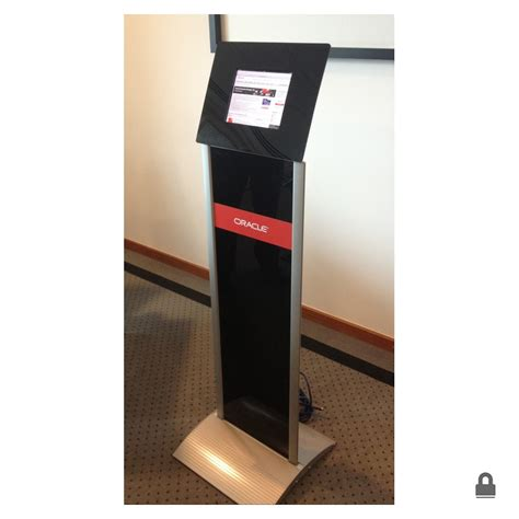 tablet floor stand tablet floor stand w graphic panel