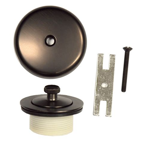 overflow trim ring oil rubbed bronze universal lift and turn tub drain trim kit with overflow