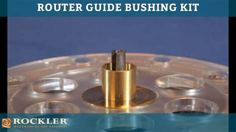 rockler router guide bushing kit youtube gt gt 20 great how
