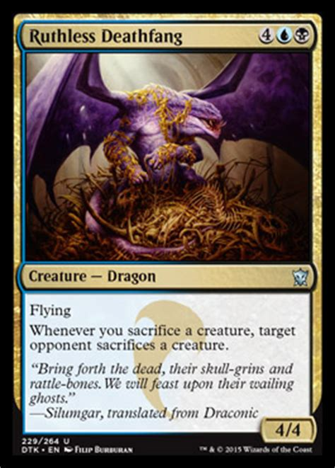 dragons of tarkir spoiler card gallery and artwork the