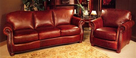 Reddish Brown Leather Sofa La Z Boy Dexter Leather Sofa Accent Chair With Brown Leather Sofa