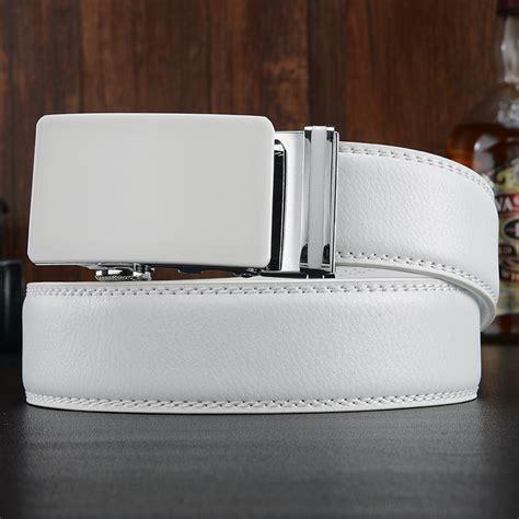 mens belts luxury s automatic leather belt buckle