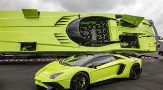 What Does Lp Stand For Lamborghini This Green Lamborghini Aventador Comes With A Matching