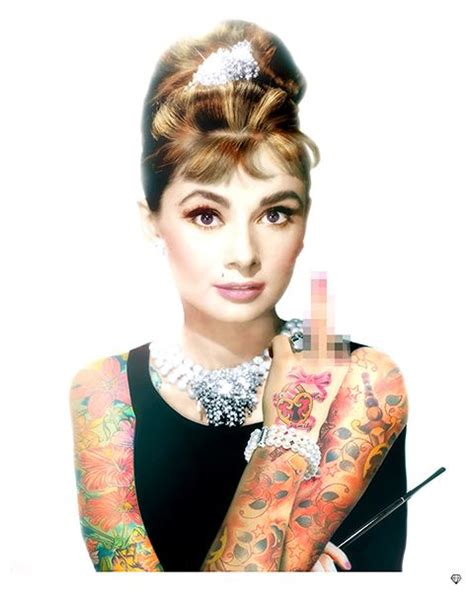 audrey hepburn tattoo hepburn colour now available at www