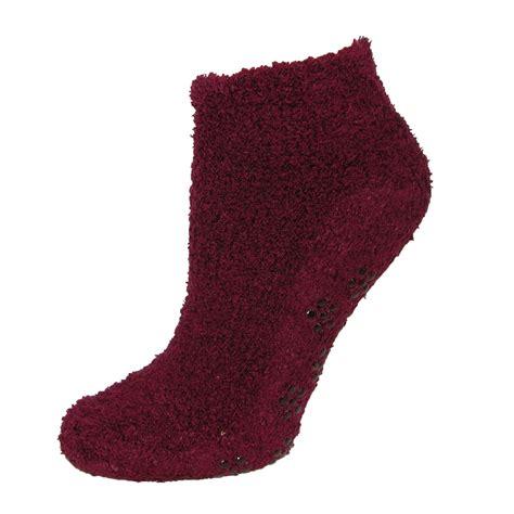 no slip slipper socks new ctm s no show slipper socks with non skid