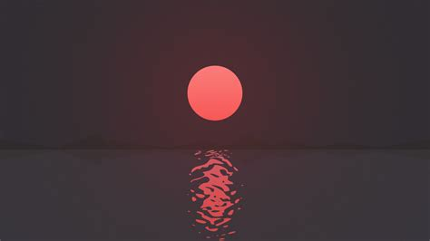 ripple sunset  wallpapers hd wallpapers id