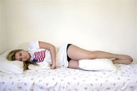 Sleeping With A Pillow Between Your Legs by The Correct Sleeping Posture For Those With Scoliosis